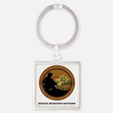 DUI-BECKLEY RECRUITING BN Square Keychain