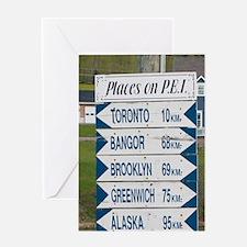 NA, Canada, Prince Edward Island. Si Greeting Card