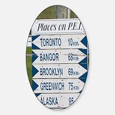 NA, Canada, Prince Edward Island. S Decal