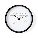 Future Robots Wall Clock