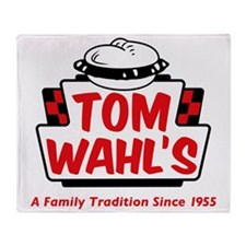 tomwahls_shirt Throw Blanket