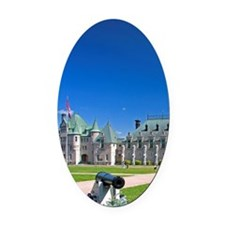 The Menege Militaire at Quebec Cit Oval Car Magnet