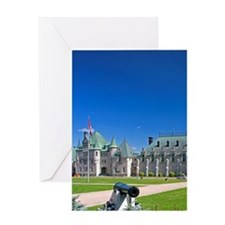 The Menege Militaire at Quebec City, Greeting Card
