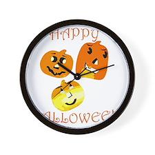 Happy Halloween Wall Clock