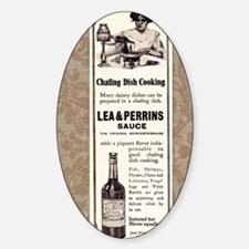Lea and  Perrins Sauce Sticker (Oval)