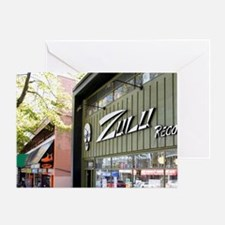 Zulu Records is a popular independen Greeting Card