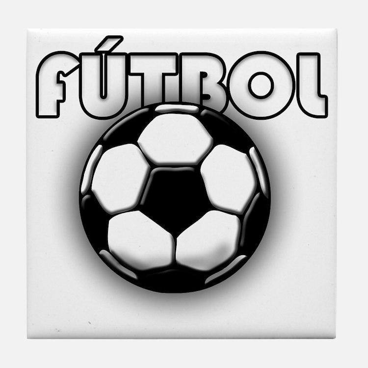 futbol Tile Coaster