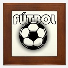 futbol Framed Tile