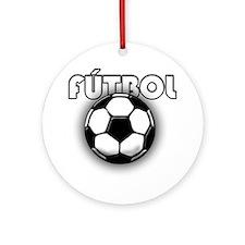 futbol Round Ornament