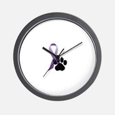 Animal Cruelty Awareness & Prevention Wall Clock