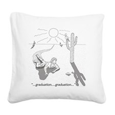 desertgraduation Square Canvas Pillow