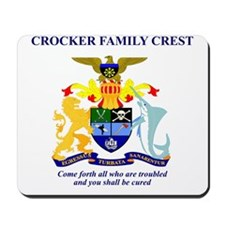 crockerfamilycrest Mousepad