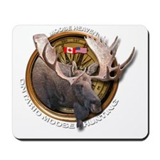 Moose Hunting Mousepad