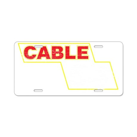 Cable54 Aluminum License Plate