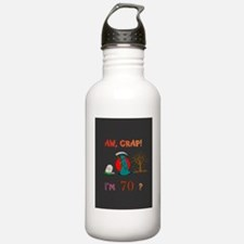Gretting Card Tall 70 Water Bottle