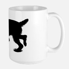 Hunting Spinone Sillhouette Mug