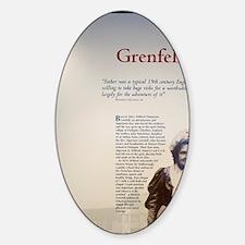 St. Anthony. Historic Grenfell Cent Sticker (Oval)