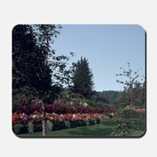 Victoria Flowers at Butchart Gardenslowe Mousepad