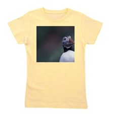 Atlantic Puffin with fishwfoundland, Wi Girl's Tee