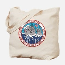 ATF-110 USS QUAPAW US NAVY SHIPS MC GROGA Tote Bag