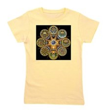 Witches Wheel of the Year Girl's Tee
