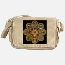 Witches Wheel of the Year Messenger Bag