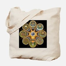 Witches Wheel of the Year Tote Bag