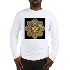 Witches Wheel of the Year Long Sleeve T-Shirt
