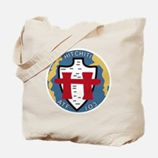 ATF-103 USS Hitchiti Military Patch Tote Bag
