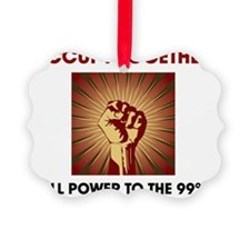 Occupy fist Ornament