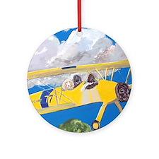 SQLite FlightCrew Round Ornament