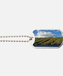 beachcalendarfront Dog Tags