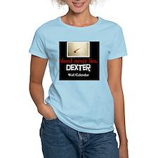 dextercalendarfront T-Shirt
