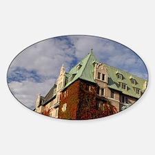 Canada, Quebec. Charlevoix region,  Sticker (Oval)