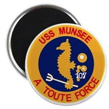 ATF-107 USS Munsee Military Patch Tug Magnet