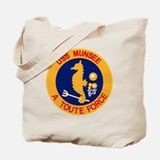 ATF-107 USS Munsee Military Patch Tug Tote Bag