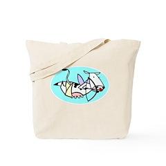 Stupid Cupid Cow Tote Bag