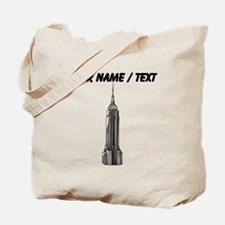 Custom Empire State Building Tote Bag