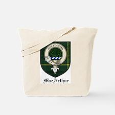 MacArthur Clan Crest Tartan Tote Bag