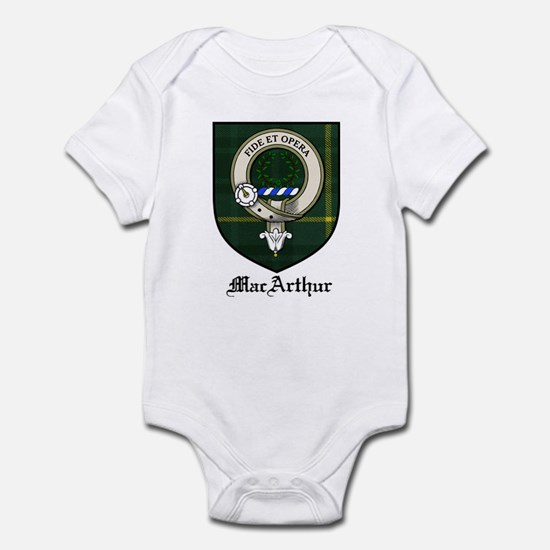 MacArthur Clan Crest Tartan Infant Bodysuit