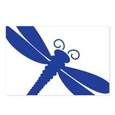 dragonfly by itself Postcards (Package of 8)