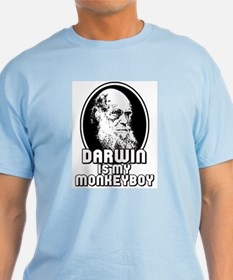 Darwin is my Monkeyboy T-Shirt