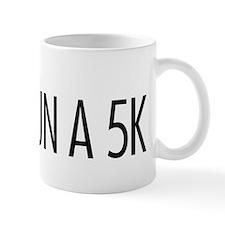 Run a 5K Check Box Mug