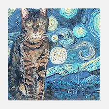 MouseLite StarryCat Tile Coaster