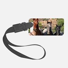 3 Horses Luggage Tag