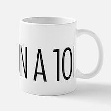 Run a 10K Check Box Small Small Mug