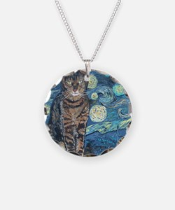 SQ StarryCat Necklace