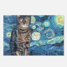 Mouse StarryCat Postcards (Package of 8)
