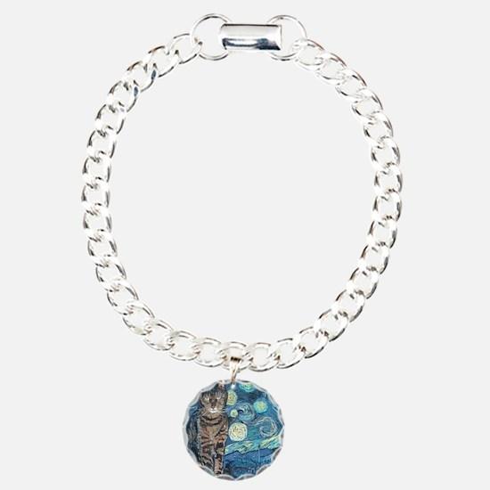 Mouse StarryCat Charm Bracelet, One Charm