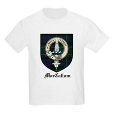 MacCallum Clan Crest Tartan Kids T-Shirt